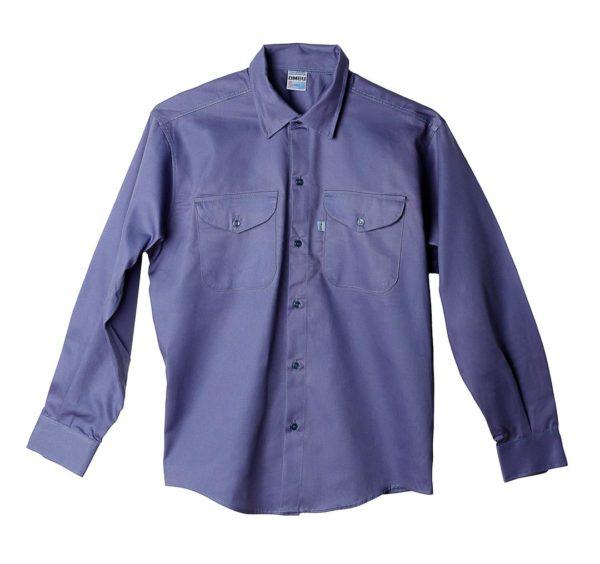 Camisa de trabajo OMBU Azulino