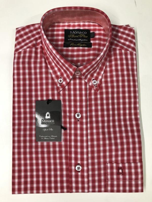 Camisa MONACO de Algodon